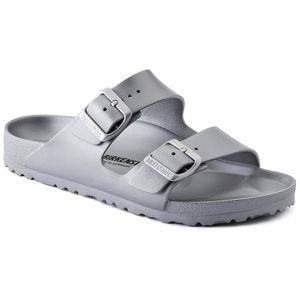 Women's Size 6-6.5 Birkenstock 37 Gray Sandals
